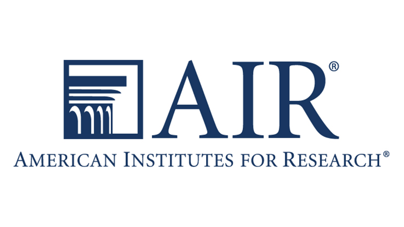 Logo for the American Institutes for Research (AIR)