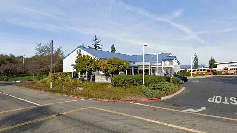 Photo of the district building in Eureka, CA